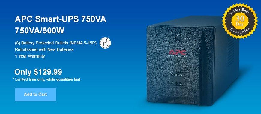 APC Smart-UPS 750VA SUA75- SALE