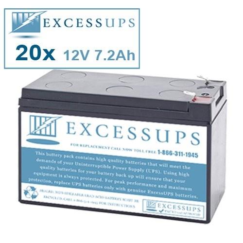 Eaton-Powerware PW9130G2500R-XL2UEU Compatible Replacement Battery Kit