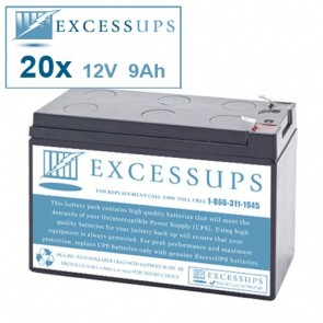 Ablerex MSII10000P Battery Set