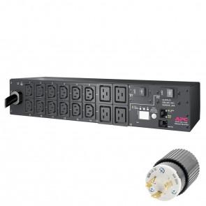APC AP7811 Rack PDU, Metered, 2U, 30A, 208V, (12) C13, (4) C19 - Refurbished